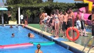 Emma, Me, Sam, Dan Waterpark Majorca 2008
