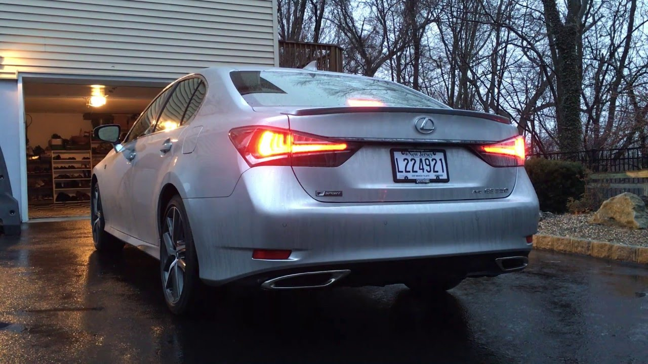 2016 Lexus GS350 F Sport: Startup U0026 Exhaust   YouTube