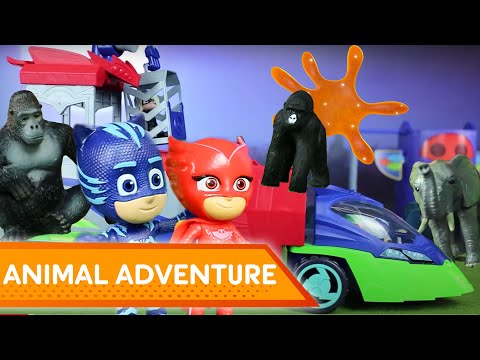 Animal Adventure! 💜 PJ Masks Creations | Play with PJ Masks
