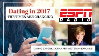 Times are changing when it comes to Dating, Donna on ESPN Radio
