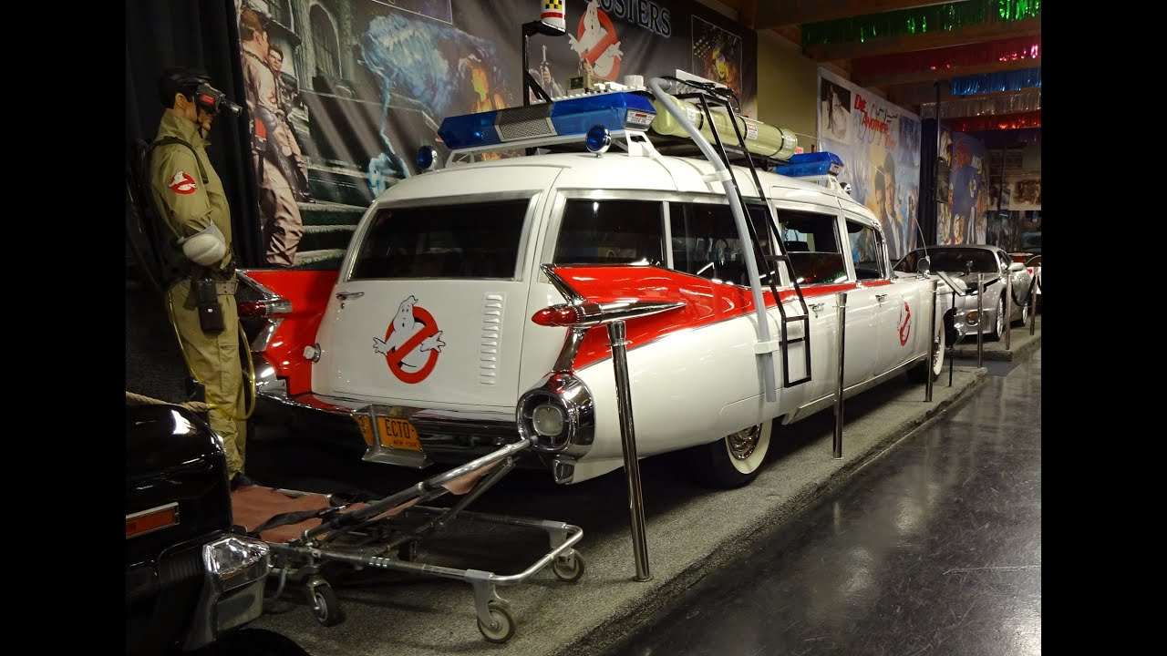 1959 cadillac caddy ghostbusters ecto 1 replica car volo. Black Bedroom Furniture Sets. Home Design Ideas