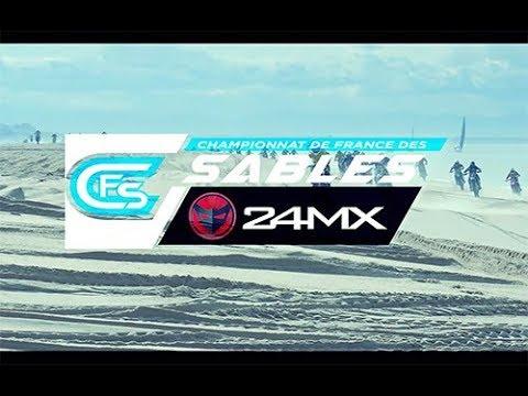 Ronde des Sables Hossegor 2018   Espoirs   Motos   CFS 24MX