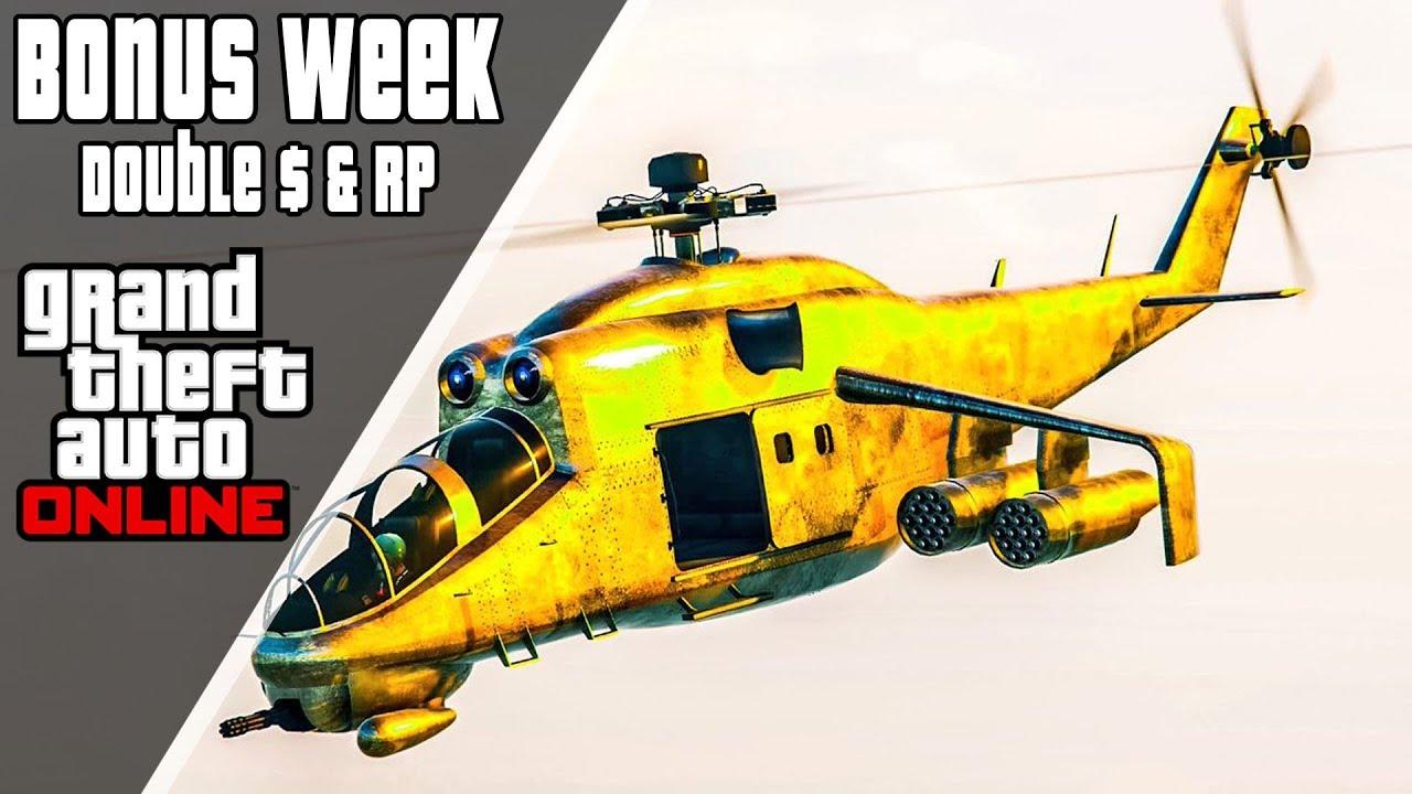 GTA 5 Online | Bonus Event Week + Sweepstakes| December 04-06 2018