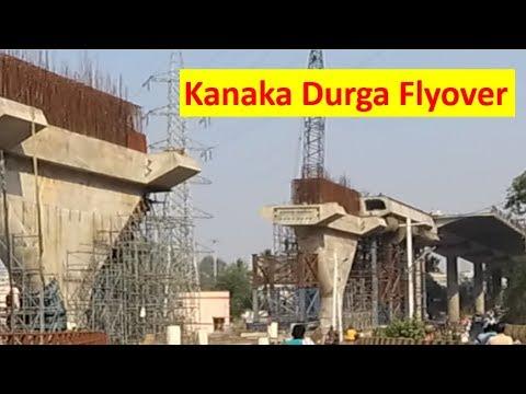 Kanaka Durga Flyover,  Punnami Ghat, VMC Office Vijayawada, Amaravati Latest Update