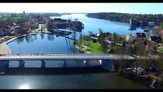 Most kolejowy w Mikołajkach
