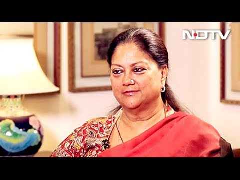 Mojarto Conversation With Vasundhara Raje