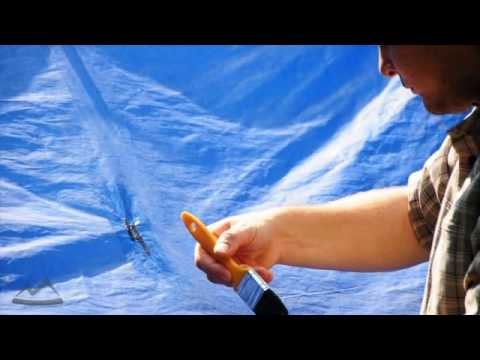 & Tarp repair - YouTube