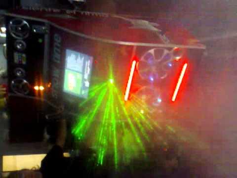 Rockola con laser y luces de neon youtube - Luces de neon ...
