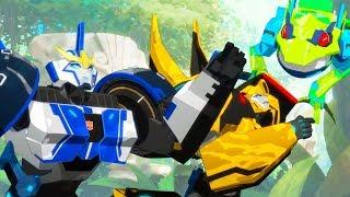 Мультик Трансформеры: роботы под прикрытием 1/9. Один в поле не воин