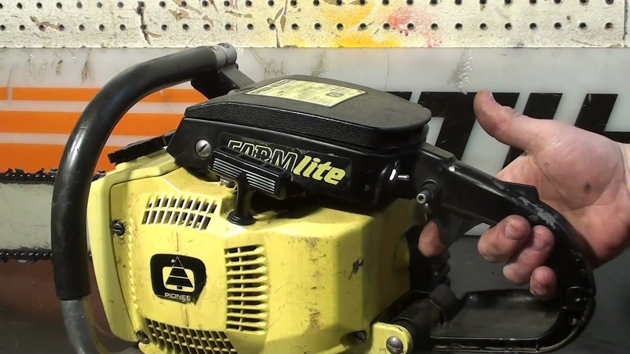 the chainsaw guy shop talk pioneer chainsaw youtube rh youtube com Pioneer Chainsaw Parts Pioneer P26 Chainsaw