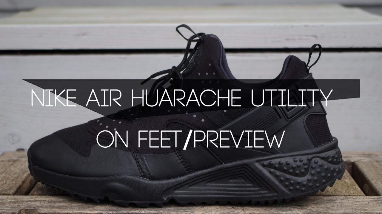 Nike Air Huarache Utility Black