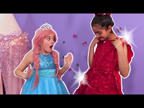 Getting Ready For The Princess Ball 👗 Princesses In Real Life | Kiddyzuzaa