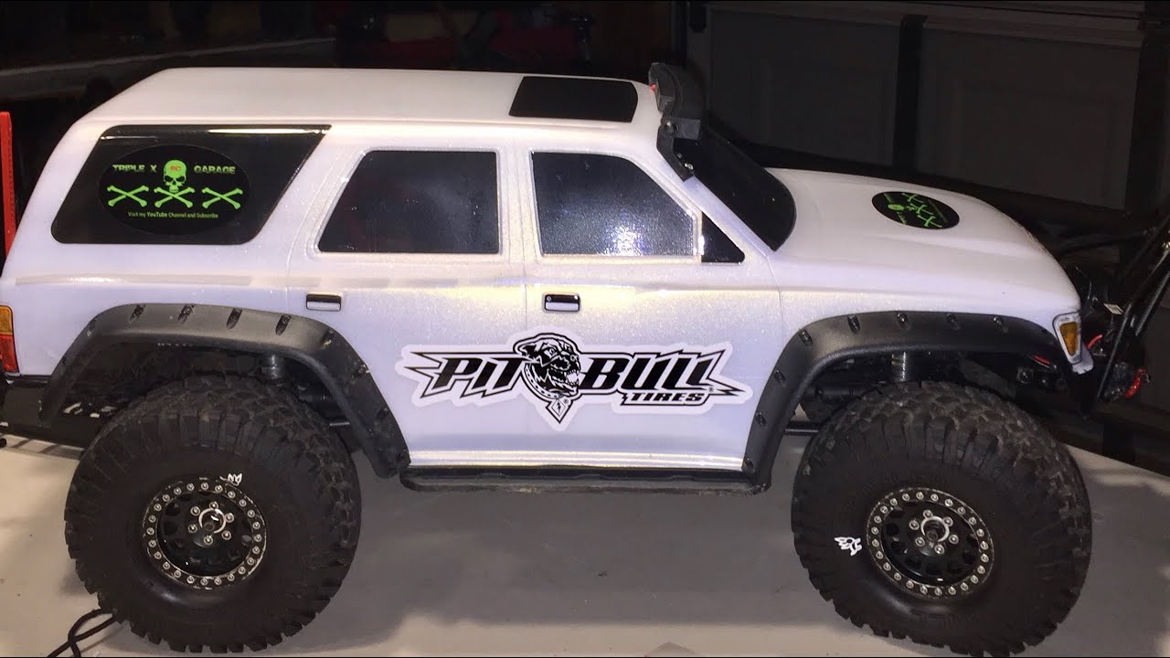 2017 Toyota 4runner >> Traxxas TRX4 How to on installing TRX4 Fenders flairs on a Proline body - YouTube