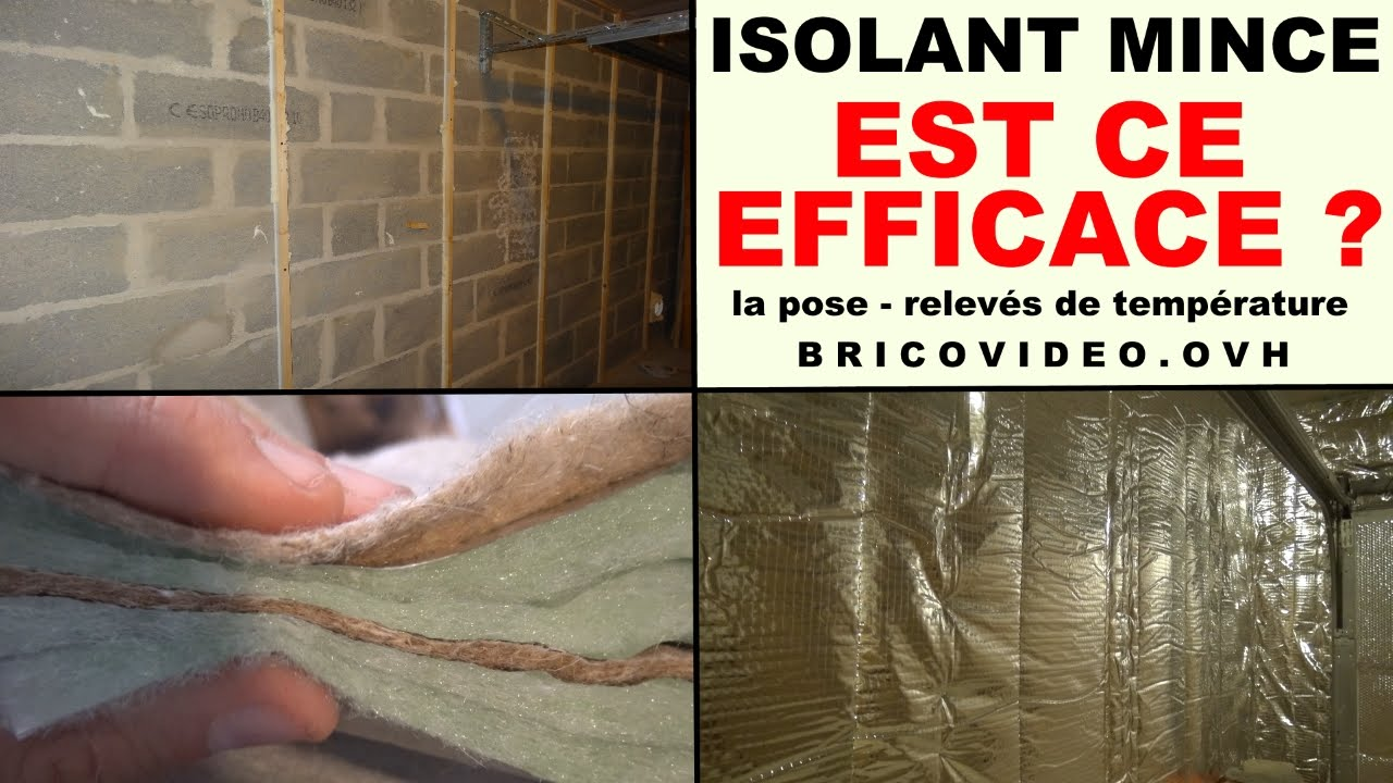 Isolation Plafond Garage Leroy Merlin Poser Isolant Mince Dans Son Garage Est Ce Efficace Isoler Son Garage