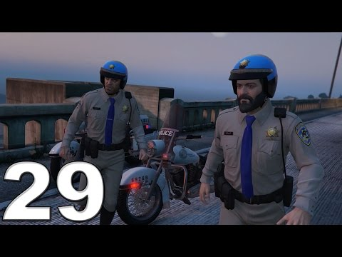 Grand Theft Auto 5 PS4 Gameplay Walkthrough Part 29 - I Fought the Law!!