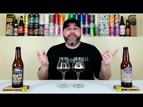 World Wide Stout (2008 & 2019) (800th Review!) | Dogfish Head Craft Brewery | Beer Review | #800-801