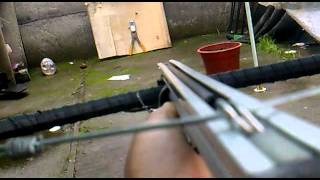 Repeat youtube video probando ballesta casera en primera persona CHILE!(crossbow homemade chile)