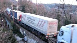 Trucks transport train - Treno per trasporto camion - 2