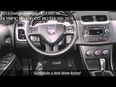 2013 Dodge Avenger Se 4dr Sedan For Sale In Florissant Mo