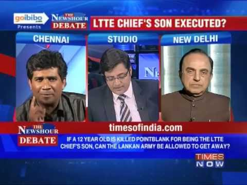 The Newshour Debate: Why LTTE Chief's son, a minor, was executed at point blank?