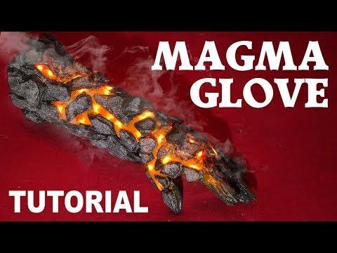 MAGMA HANDSCHUH Magma Gauntlet / DIY Tutorial