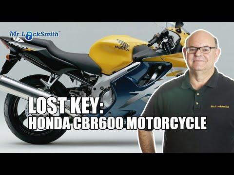 Lost Keys Honda CBR600 Motorcycle | Mr  Locksmith Video