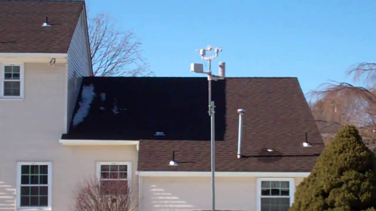 ambient ws 1090 weather station - youtube