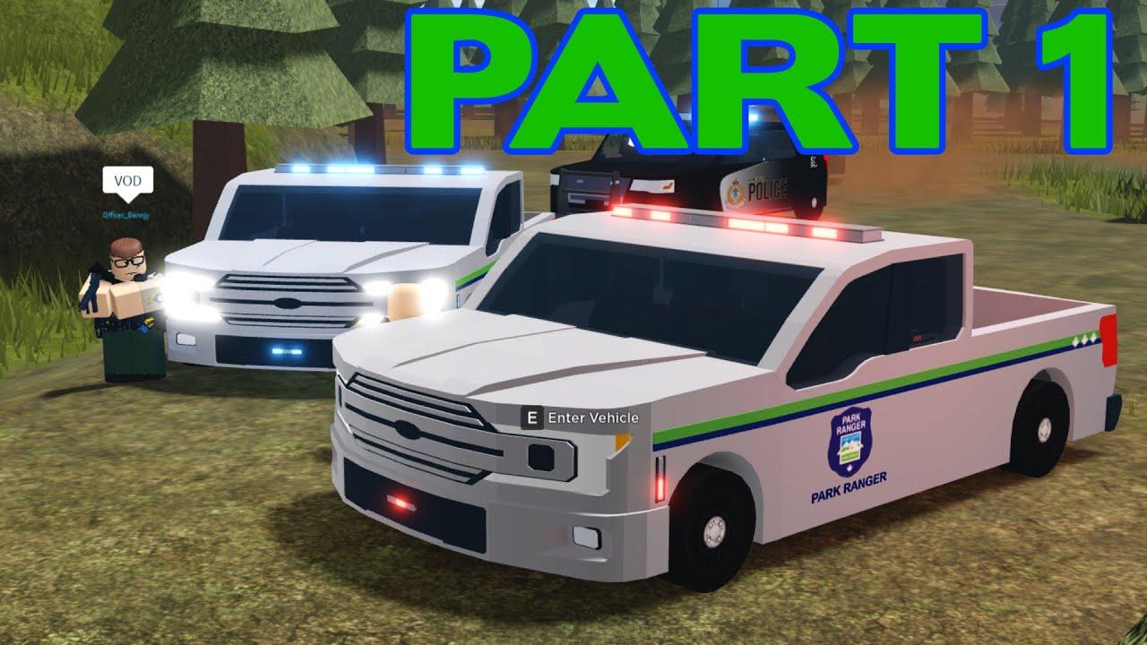 ROBLOX Vancouver Park Service Patrol Part 1 | Standoff & Shots Fired!