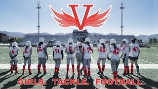 Valkyrie Football Promo - GIRLS. TACKLE. FOOTBALL.