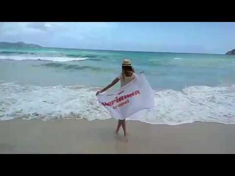Seychelles islands, Port Glaud beach. Marianna Travel.