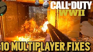 10 Fixes for World War 2 Multiplayer + 1 That Will Never Happen!