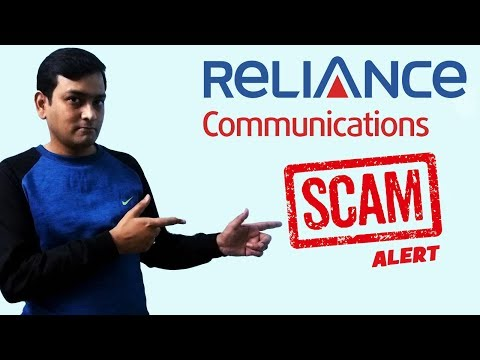 Reliance Communications Scam|Not Refunding Customer Security Deposit And Balance| TRAI  का चेतावनी