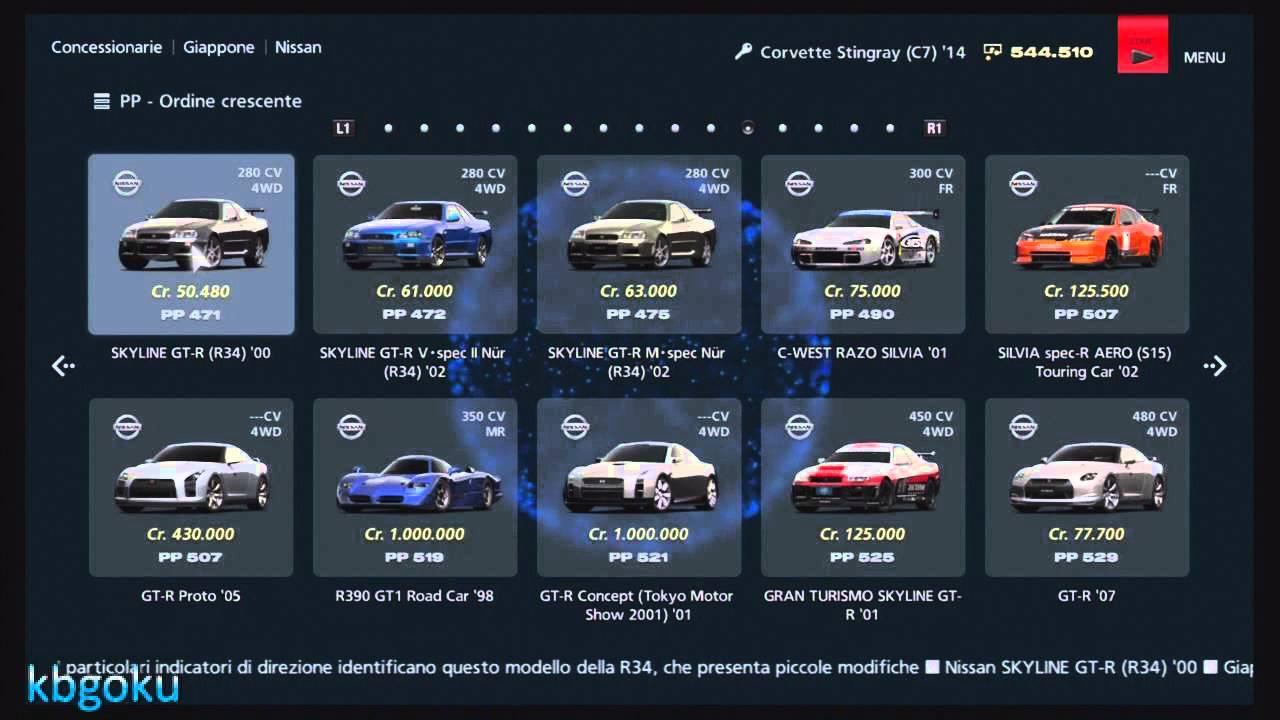 Autoliste Gta 5