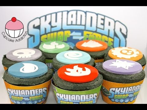 Skylanders Cupcakes How to Make Skylanders SWAP Force Elements
