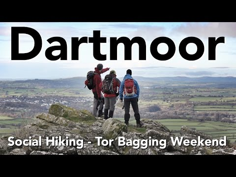 Dartmoor - Social Hiking - Tor Bagging Weekend
