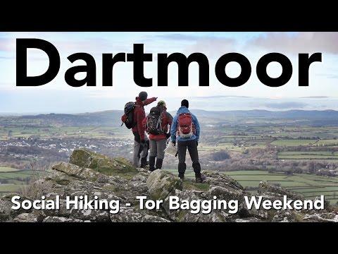Dartmoor - Social Hiking - Tor Bagging Weekend