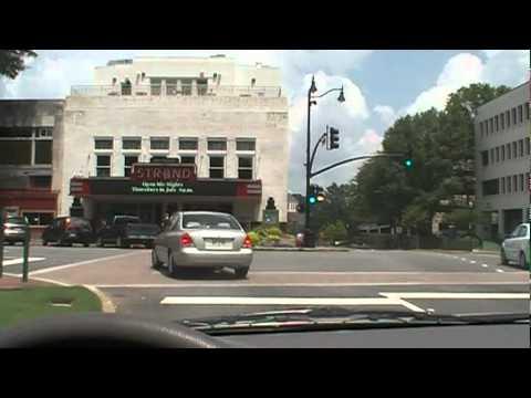 Driving the Marietta Square