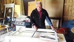 Miten kunnostat vanhat ikkunanpuitteet