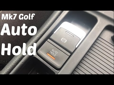 HTL: How To use Auto Hold and Parking Brake on a Mk7 Volkswagen Golf