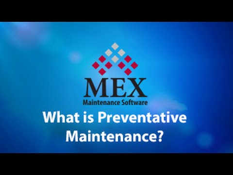What is Preventative Maintenance?