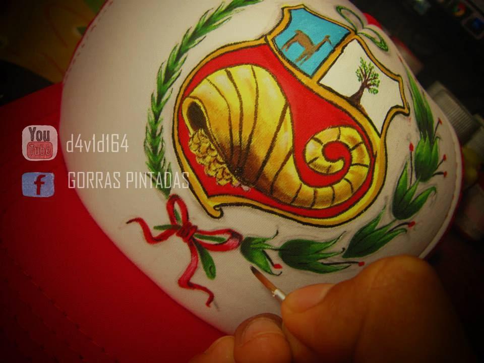 Gorras Pintadas , ESCUDO DEL PERÚ