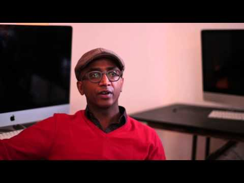 Dawit L. Petros talking about his participation in this year's Invisible Borders Road Trip Project