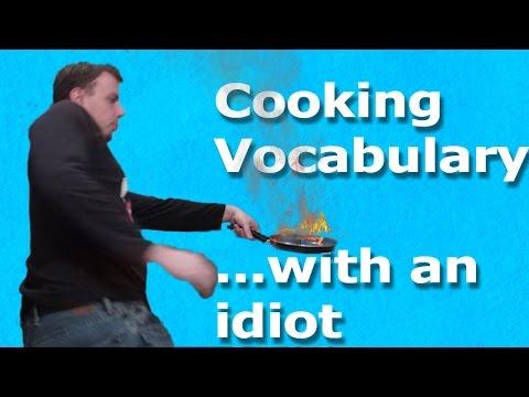 Cooking Vocabulary | Everyday English Vocabulary