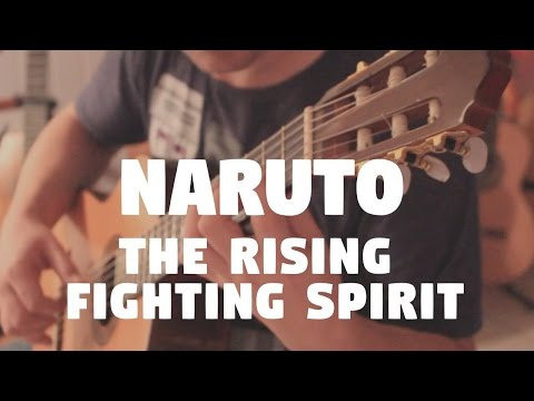 "Naruto ""The Rising Fighting Spirit"" on Fingerstyle by Fabio Lima"