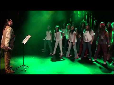 la chorale du Lycée Pierre Poivre