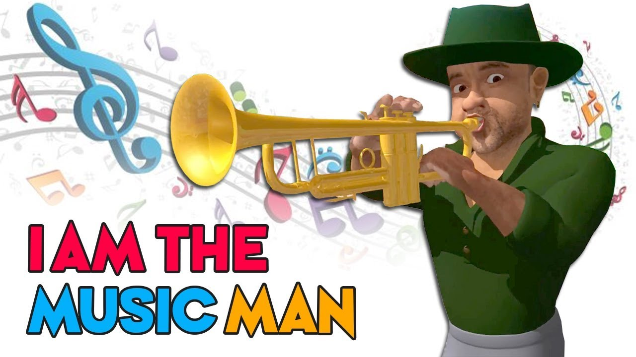 I Am The Music Man Learn Musical Instruments With Nursery Rhymes Kids Songs Youtube
