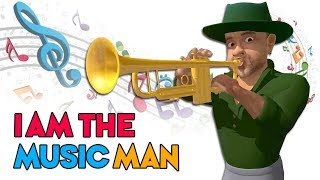 Video I Am The Music Man - Learn Musical Instruments with Nursery Rhymes & Kids Songs download MP3, 3GP, MP4, WEBM, AVI, FLV Agustus 2018
