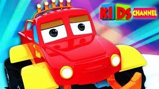 Monster Truck Dan | Street Vehicle Videos | Car Cartoons | Kids Channel