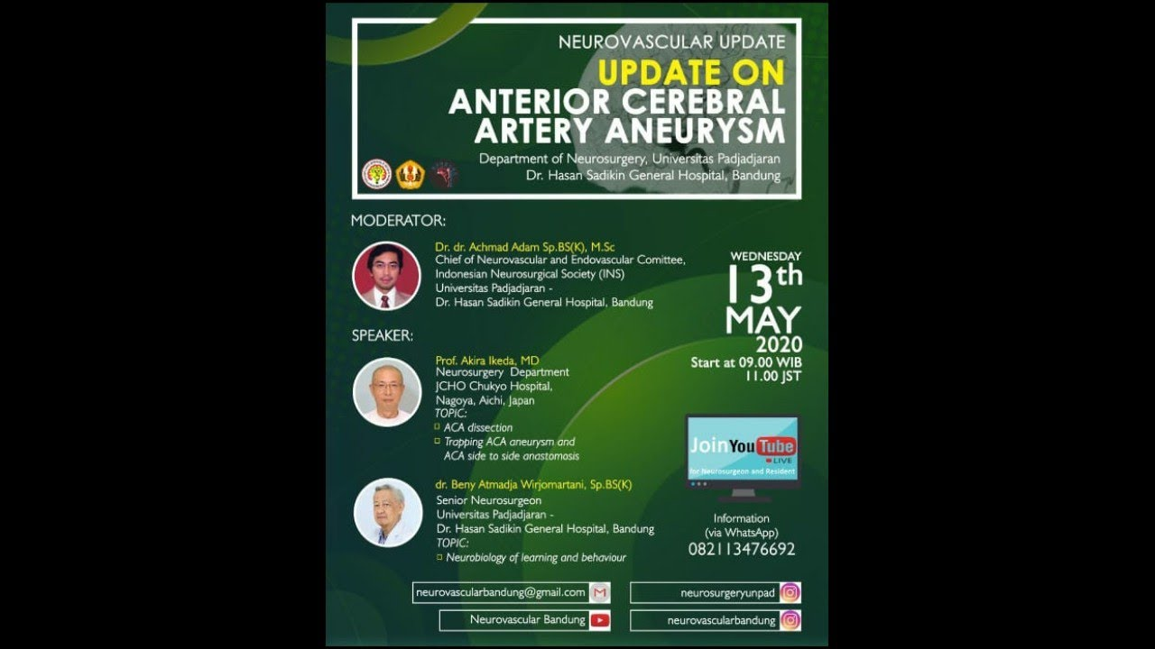 Download Neurovascular Update: Update On Anterior Cerebral Artery Aneurysm WEBINAR (Full Duration)