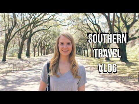 TRAVEL VLOG ∆  Savannah & Charleston!